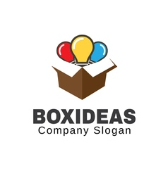 Box ideas design vector