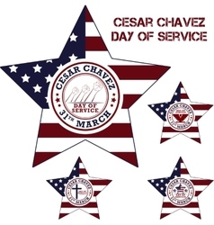 Cesar chavez day vector