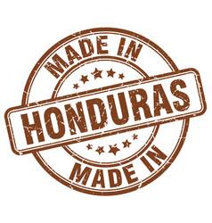 Made in honduras vector