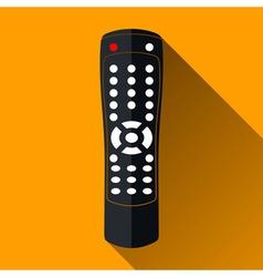 Remote control icon long shadow design vector
