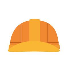 Worker safety helmet vector