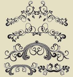 Patterns design vector