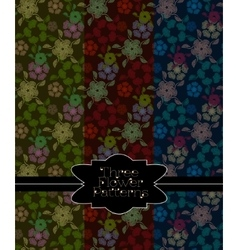 Pattern collection for making seamless backgrounds vector image