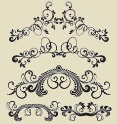 patterns design vector image vector image