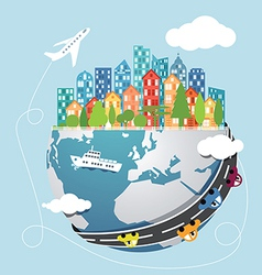 Global transportation vector