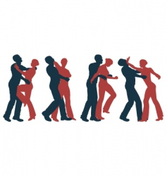 Female self defense vector