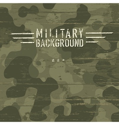 Camouflage military background vector