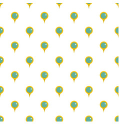 Locate pin pattern seamless vector