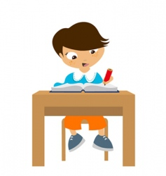 student vector image vector image