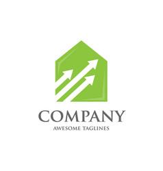 Home management logo vector