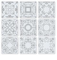 al 1007 tiles vector image