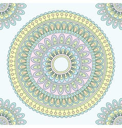 Abstract indian pattern vector