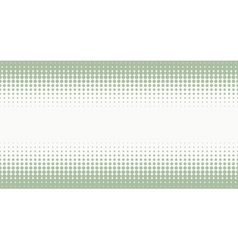 Halftone background with pastel green color vector