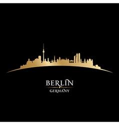 Berlin germany city skyline silhouette vector