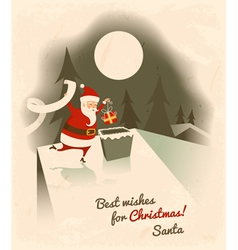 Best wishes for Christmas vector image vector image