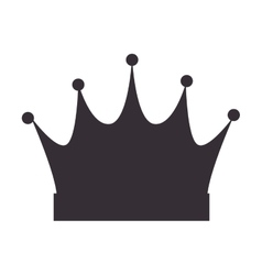 Crown queen royal vector