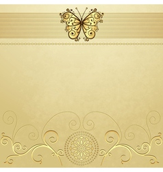 Old grunge paper vector image vector image