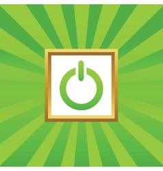 Power picture icon vector