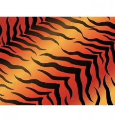 Tiger pattern vector
