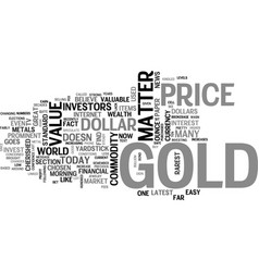 Why should i invest in gold text word cloud vector