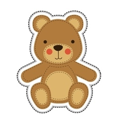 Teddy bear icon image vector