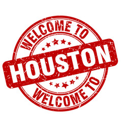 Welcome to houston vector