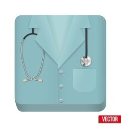Premium icon medical uniforms vector