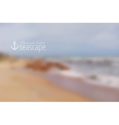 Seascape vector