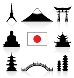 Japan Icon vector image