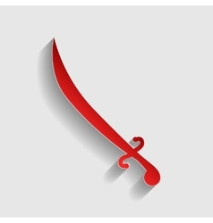 Sword sign vector