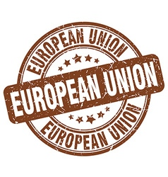 European union stamp vector