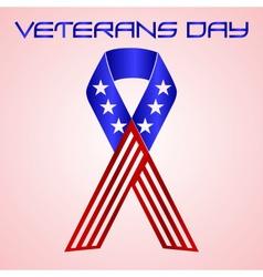 american veterans day celebration in americal vector image vector image