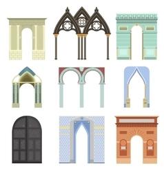 Arch construction vector