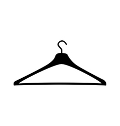 Clothing hanger icon image vector