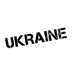 Ukraine rubber stamp vector