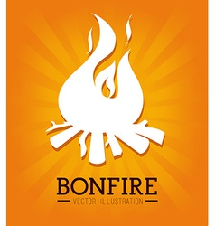 Fire design vector