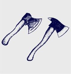 Ax set vector image
