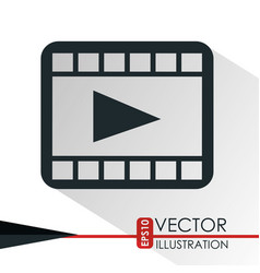 Play icon design vector