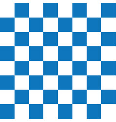blue and white checker pattern vector image
