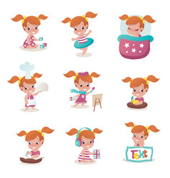 Child activity vector