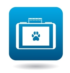 Equipment for veterinary icon simple style vector