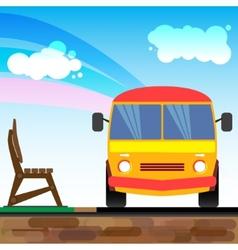 Bus1 vector image