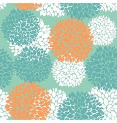 Cute unique floral autumn pattern vector image vector image