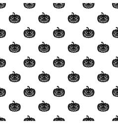 Halloween pumpkin pattern simple style vector