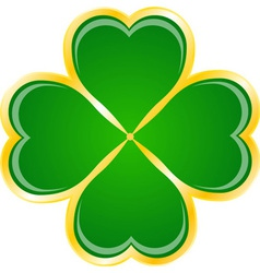 Saint Patrick Day Clover vector image vector image