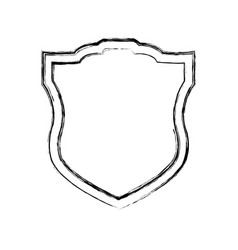Shield security symbol vector
