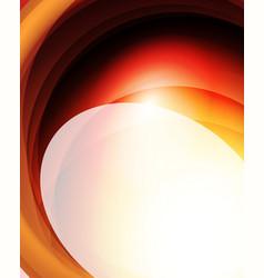 Shiny wave glass futuristic hi-tech design vector