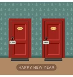 Happy new 2016 year vector