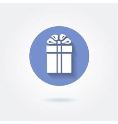 Present icon vector image vector image