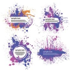 color index blot vector image